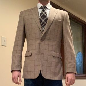Tommy Hilfiger tweed windowpane sport coat